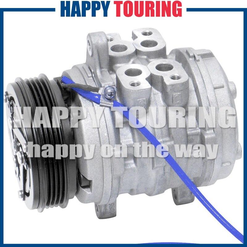 10P08E AC Compressor Assembly For SUZUKI BALENO 1995-2002 CO 10685DC 12357702 30006557 30011735 30011818 89032784 9606917010P08E AC Compressor Assembly For SUZUKI BALENO 1995-2002 CO 10685DC 12357702 30006557 30011735 30011818 89032784 96069170