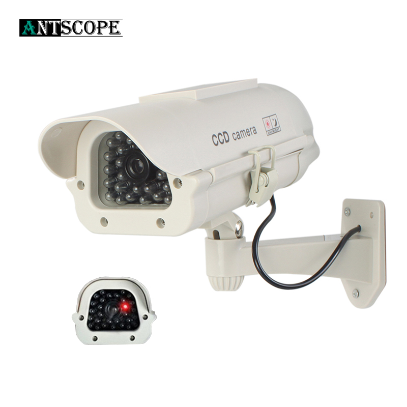 Dummy Fake Camera Security Bullet Emulational Camera CCTV Camera Monitor Waterproof Outdoor For Home Surveillance LED Flash 15Dummy Fake Camera Security Bullet Emulational Camera CCTV Camera Monitor Waterproof Outdoor For Home Surveillance LED Flash 15