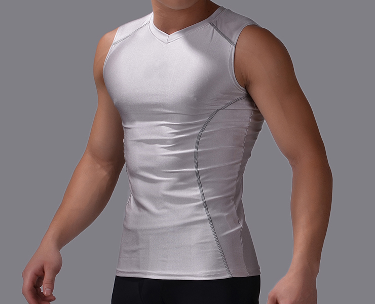 Summer Men s Brand Compression Tanks Top Bodybuilding Shirt Quick Dry Fit  Clothing No Sleeve Shirts for Men Slimming Vest-in Running Vests from  Sports ... f5a8da43bb34