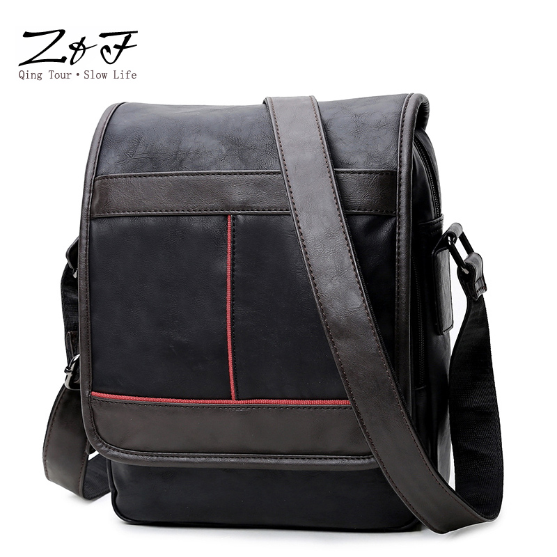 Multifunction PU Leather Men Bags Casual Business Men's Messenger Bag Vintage Men's Crossbody Bag male weekender bag travel high quality men canvas bag vintage designer men crossbody bags small travel messenger bag 2016 male multifunction business bag