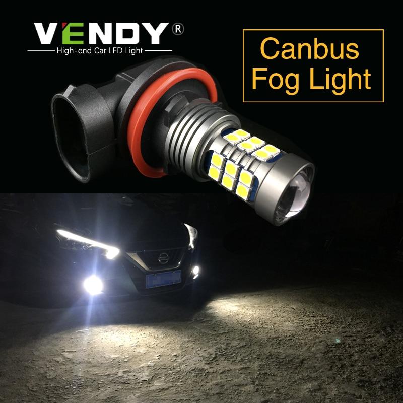 2x H8 H11 H10 H16 9006 HB4 PSX24W High Power 27 SMD 3030 LED 12 v Auto Auto Lichter Lampe lampe Für Toyota Subaru Honda Chrysler JEEP