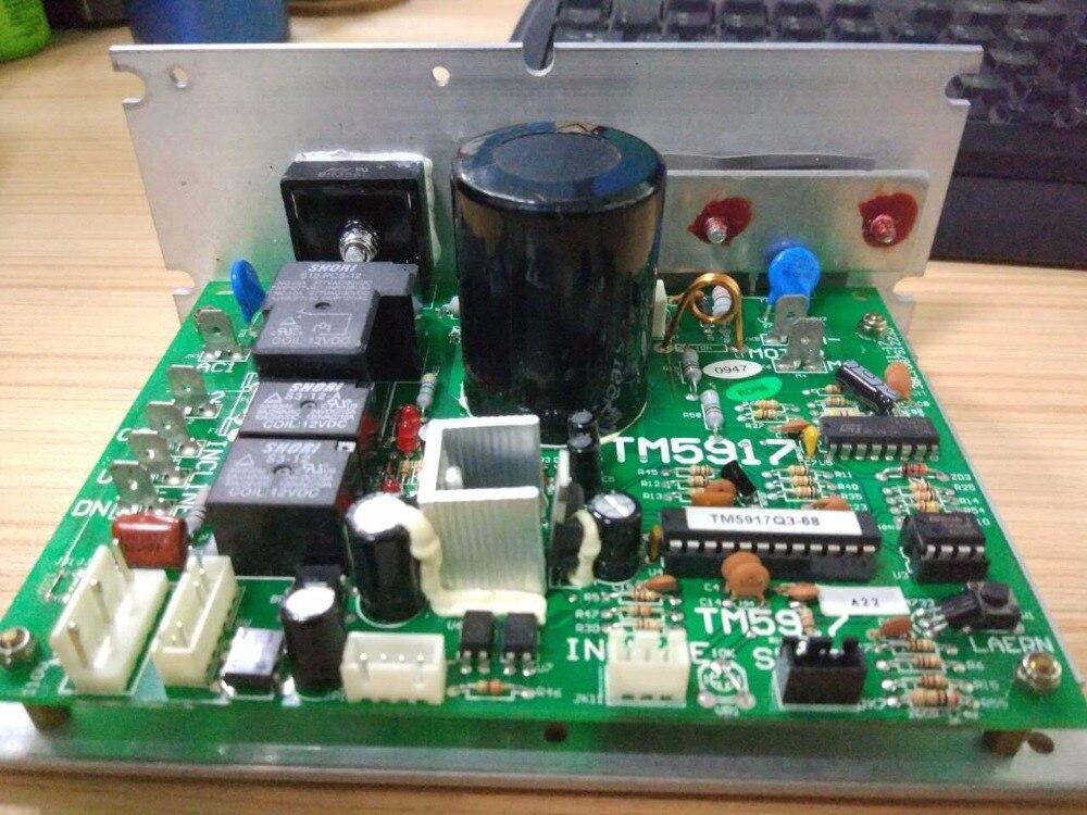 Il trasporto Libero di Controllo Del Motore SHUA tapis roulant SH-5506 TM5917 circuito di controllo della scheda madre del computer di bordo sotto scheda di controllo