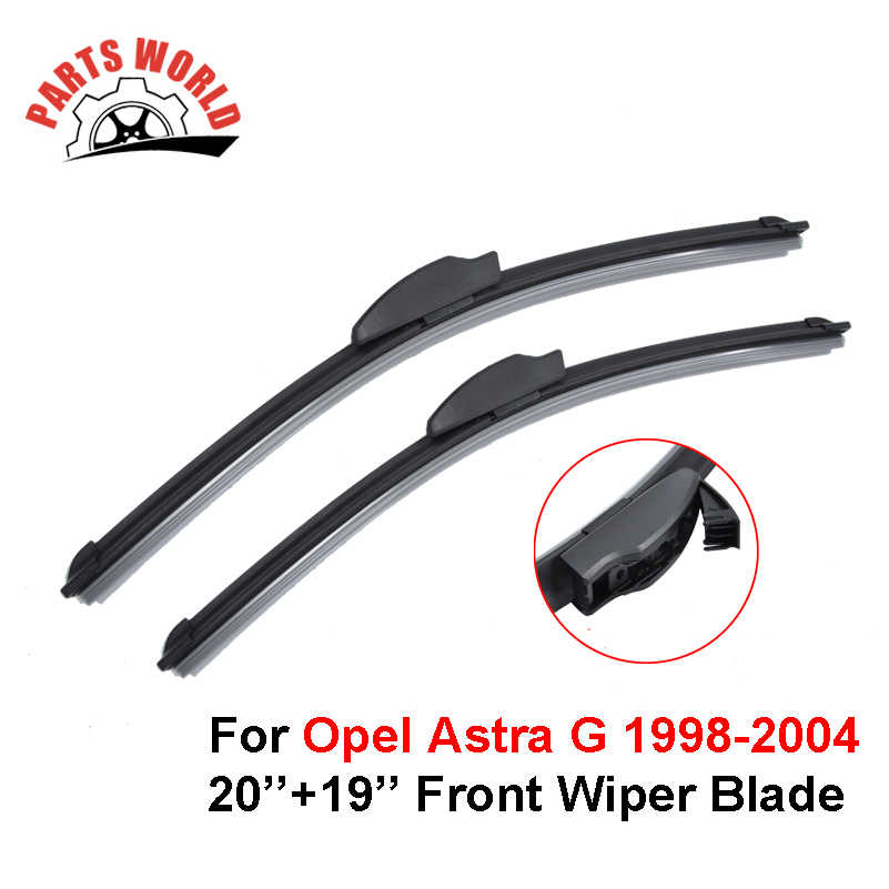 Bras et lame d'essuie-glace avant et arrière de voiture pour Opel Astra G Estate 1998-2004 pare-brise Auto fenêtre brosse lunettes accessoires de voiture
