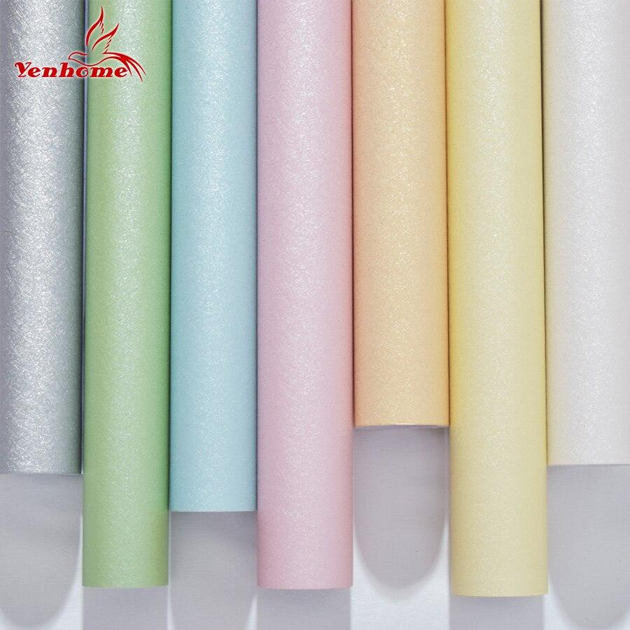 Moderne Vinyl Dekorative Film Selbstklebende Tapete PVC Seide Textur Muster Wohnzimmer Kinder Schlafzimmer Home Decor Wandaufkleber
