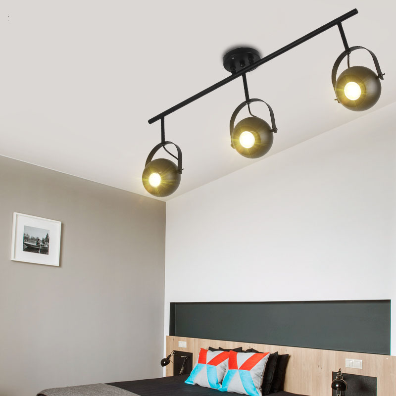 Ceiling Lights & Fans Lovely Modern Simple Golden Silver Copper White Ceiling Lamp E27 Holder Passageway Indoor Light Fixture For Living Room cb-50