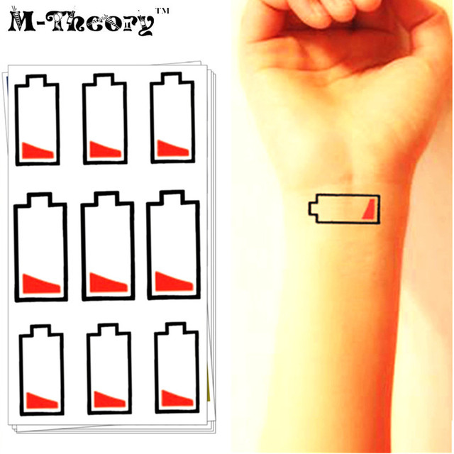 M-Theory Temporary Fake Tattoos Body Arts Funny Flash Tatoos Stickers Tatto 10.5x6cm Swimsuit Bikini Dress Makeup Tools