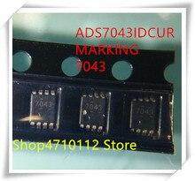 NEW 5PCS/LOT ADS7043 ADS7043IDCUT VSSOP-8 IC