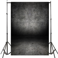 Gray Pure Color Old Master Vinyl Photography Background Digital Printing Background For Photo Studio Photobooth Props 2.4*3.75M