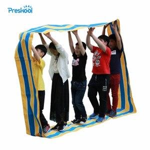 Image 1 - Preskool ของเล่นเด็กเด็กผ้า Oxford กีฬากลางแจ้งเกม Props ความรู้สึกอุปกรณ์การฝึกอบรม Brinquedos Juguetes