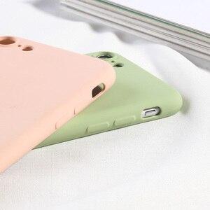 Image 4 - Vollständige Abdeckung Silikon Fall Für iPhone 7 8 Weiche TPU Silikon Protector Zurück Telefon Abdeckungen Für iPhone 6 6 s plus X XR XS MAX Coques