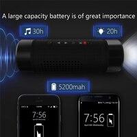 SHZONS OS2 Intelligent Outdoor Speaker Loudspeaker Box Power Bank Portable Power Source Flashlight Multi Function Column