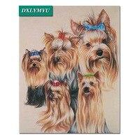 DIY 5d Diamond Painting 5 Cute Bow Puppy Diamond Embroidery Sale Diamond Mosaic Craft Full Rhinestone