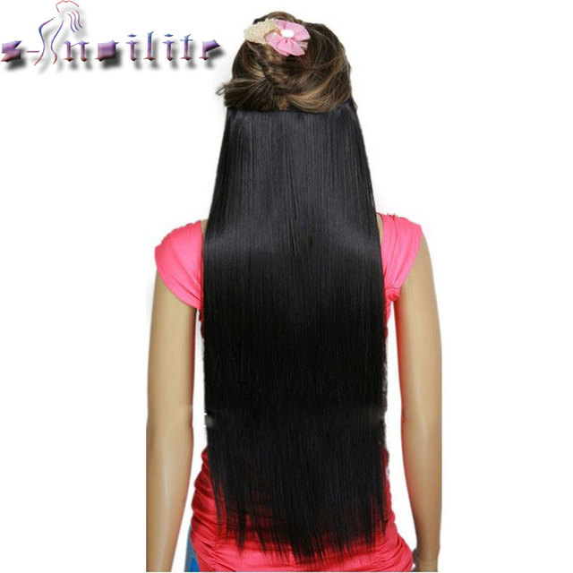 S Noilite Natural Thick Longest 76cm 30 Inches Clip In Hair