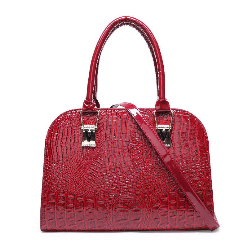 European Style Women PU Leather Handbag Fashion Ladies Shoulder Bags Women Messenger Bags Shell Crocodile Women Handbags dtbg pu leather women handbag fashion european and american style totes messenger bag original design briefcase zipper 2017