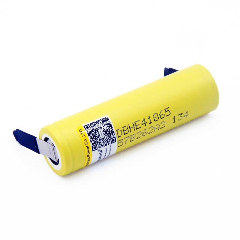 Mới Ban Đầu HE4 2500 mAh Li-lon Pin 18650 3.7 V Điện Có Thể Sạc Lại pin Max 20A, 35A xả + Nickel tấm