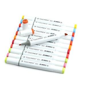 Image 2 - Professional Art Markersเคล็ดลับTOUCHNEW 30/40/60/80/168สีภาพวาด/ภาพวาดมังงะเครื่องหมายแอลกอฮอล์ฐานปากกาMarker