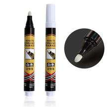 цена на White Marker Pen Single-head Marker Pen Oily Tire Car Paint Brush Waterproof Permanent Paint oil Marker CD Metallic Graffiti Pen