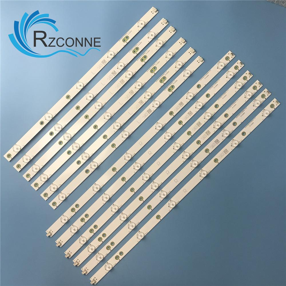 LED Backlight Strip For 50PFT4509 500TT56 500TT55 50PFL6340/T3 50PFL6540 50PFL5V40 TPT500DK-QS1 50PFK4509/12 50PFA4509 50PFA4509