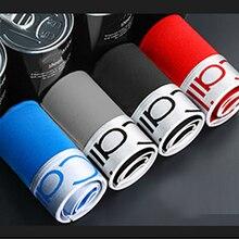 4Pcs Cotton Boxer Men Breathable Men Underwear Soft Multicolor Boxer