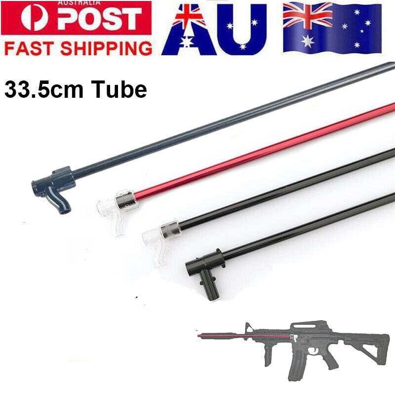 Zhenduo Toys 33.5CM Upgrade Metal Tube + T-piece For Jinming Gen9 Gen8 M4a1 Gel Blaster Toy