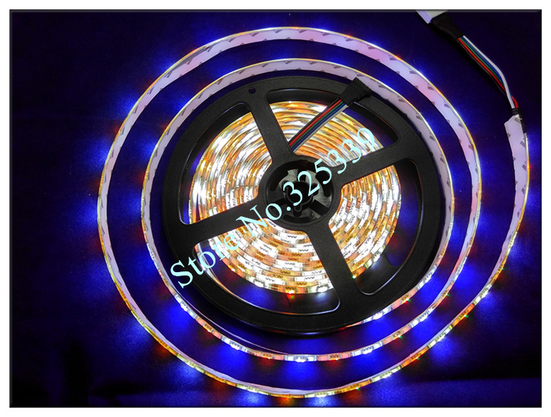 100 комплектов RGBW RGBWW SMD 5050 5 м водонепроницаемая светодиодная лента фонарик RGB+ белая лента+ 40 кнопочный пульт дистанционного управления+ 3A адаптер питания