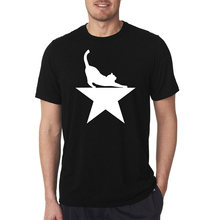 High Quality Hamilcat 2.0 for Hamilton Musical Fans Man's T Shirt O-neck Short Sleeve Men Top Tee