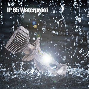 Image 4 - 2 قطعة 1.5 بوصة H4 LED جهاز عرض صغير عدسة للسيارات دراجة نارية عالية منخفضة شعاع LED تحويل عدة مصباح المصباح 12 فولت/24 فولت 5500 كيلو