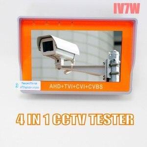 Image 3 - อัพเกรด HD กล้องวงจรปิด Tester IV8W IV7W 5MP 4MP AHD TVI CVI Cvbs ตรวจสอบความปลอดภัย PTZ UTP สายทดสอบ