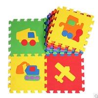 10pcs Set 30 30cm EVA Mat Puzzle Carpet Baby Play Mat Puzzle Baby Foam Flooring Mats