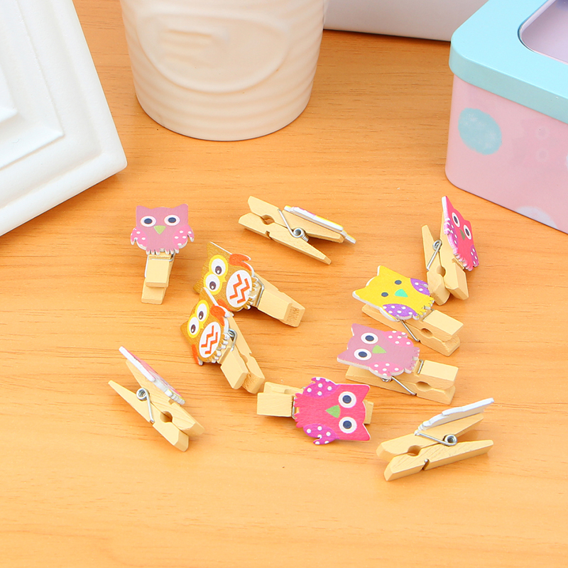 Office & School Supplies Purposeful 10pcs/bag Cute Wooden Mini Clips With Hemp Rope Kawaii Stationery Chancery Diy Decorative Clothespins For Photo Paper Papelaria Nourishing The Kidneys Relieving Rheumatism Office Binding Supplies