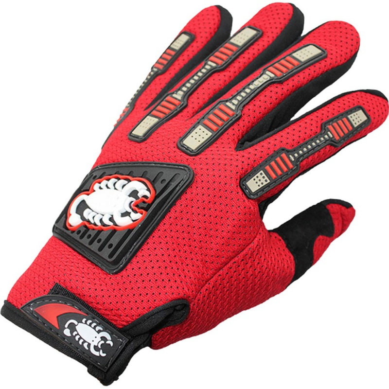 Men women Cycling Full Finger Pattern Printing Gloves Breathable Handwear Shock Anti-Slip Bicycle Fitness Gloves New