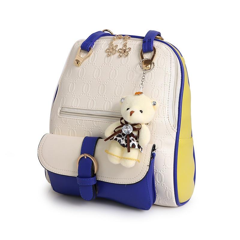 2017 summer fashion women small backpack vintage female mini backpack PU Leather school Backpacks For Teenagers Girls sac a dos gliya 2016 summer women backpack korean floral metal deoration pu leather backpack fashion women small green school bag g15283