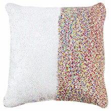 Наволочки 40X40 см Декоративные Чехлы на подушку Русалка блестящая подушка с пайетками декоративные подушки для дивана наволочка
