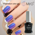 2016 New Arrival Mro unhas de gel nail polish is a chameleon nail glue esmaltes permanentes de uv color changing nail polish