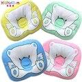 Подушка для новорожденного медведя, мультяшная подушка в форме головы, мягкая позиционер для младенцев, плоская подушка для головы, подушка...