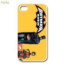Funny Design Batman and robin Custom hard plastic mobile phone bags & cases cover for Apple iPhone 4 4s 5 5s 6 6s plus