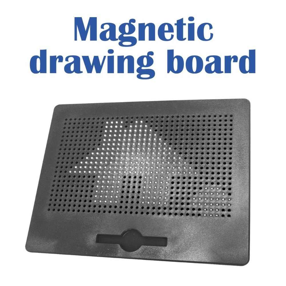 The Board Features a Extra Large Writing Board with 8 color zones /& Erasable slider to etch a sketch for Boys and Girls ages 2-12 Years Old Toyvelt Magna Doodle Magnetic Drawing Board for Kids