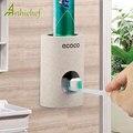 Автоматический Дозатор зубной пасты, держатель для зубных щеток, пшеничная солома, водонепроницаемый пыленепроницаемый, скребок для зубно...