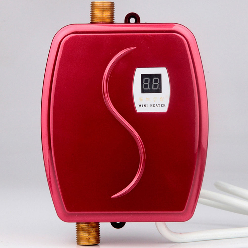 Küche Instant Elektrische Wasser Heizung Heißer Wasser Wasserhahn Wasser Heizung Thermostat Haushalt Led Temperatur Display 110 V/220 V
