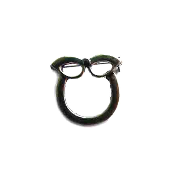Vintage antique color metal charm eyeglass sunglasses goggles holder pin badge brooch ornament fashion jewelry accessory 6pcs x