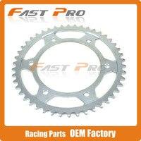 46T Rear Sprockets For Honda Road Bike StreetBike CBR600 CBR 600 CBR600 F 4i USA01 06