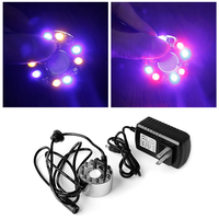 12 LED Light Ultrasonic Mist Maker Fogger Water Fountain Pond Indoor Outdoor New