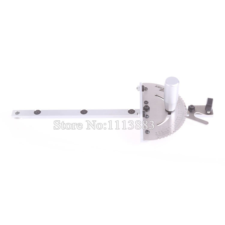 Router Brass Aluminum Table Saw Jig Table Handle Miter Gauge Woodworking For