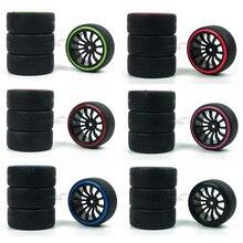 RC 4PCS 94123/94122 1/10 run flat tire drift car / car / truck / car general 711+5010