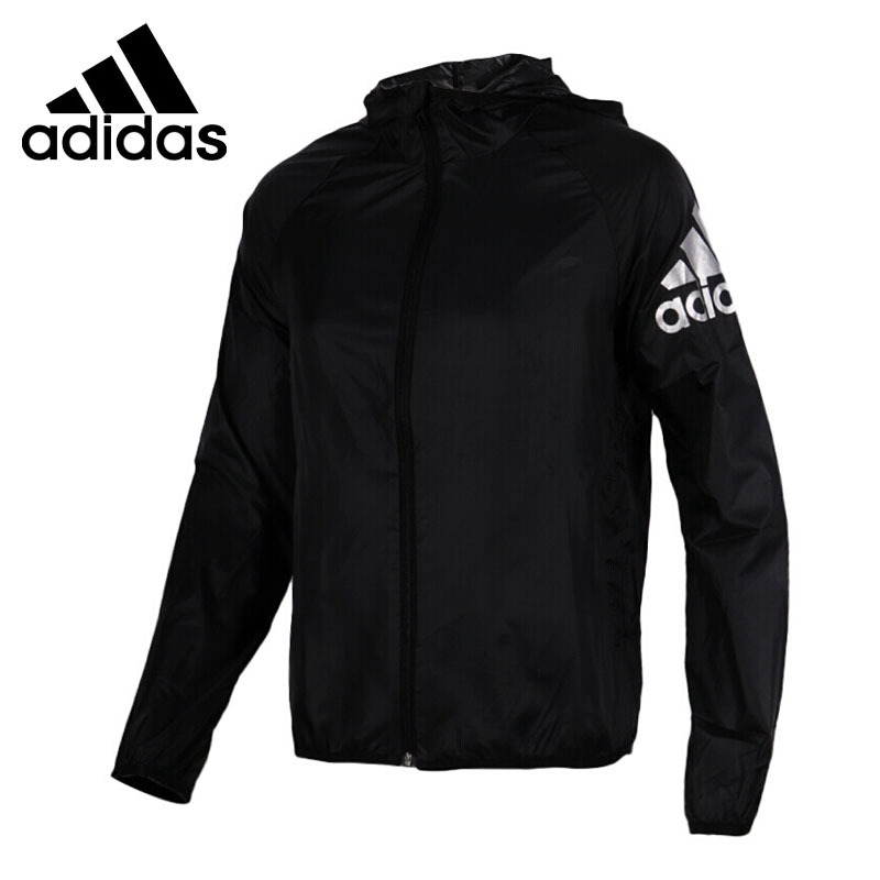 Original New Arrival 2018 Adidas WB LOGO SUMMER Women's jacket Hooded Sportswear стоимость