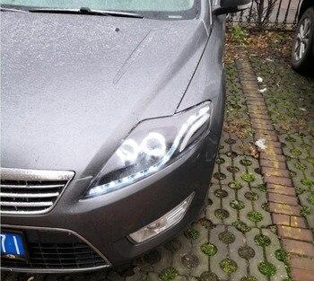 LED Scheinwerfer Für Ford Mondeo 2007-2012 Auto Led Lichter Doppel Xenon-Objektiv Auto Zubehör Tagfahrlicht Nebel licht