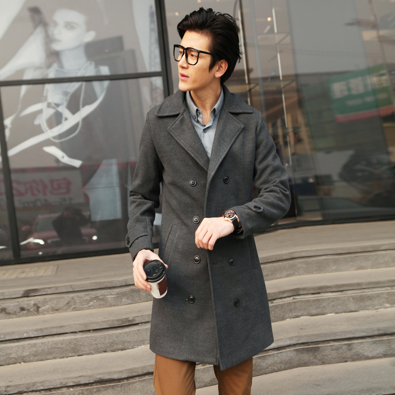 Jackets\u0026 coats for mens Luxury Casual polyeater woolen fashion thick Trench  Coat, Design Slim long Jackets M XXL Free shipping,in Trench from Men\u0027s  Clothing