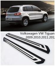 Для Volkswagen VW Tiguan 2009.2010.2011.2012 Автомобиля Подножки Авто Подножка Бар Педали Высокое Качество Nerf Бары