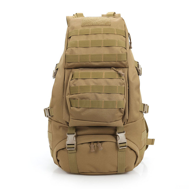 b6d9a9020d Professional 45L Outdoor Backpack Molle 3D Military Tactical Backpacks  Hiking Camping Travel Bags Large Camouflage Rucksack