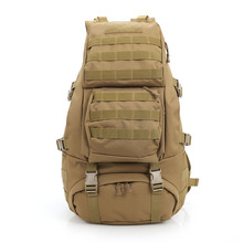 Professional 45L Outdoor Backpack Molle 3D Military Tactical Backpacks Hiking Camping Travel Bags Large Camouflage Rucksack